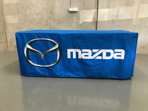 logo tablecloth