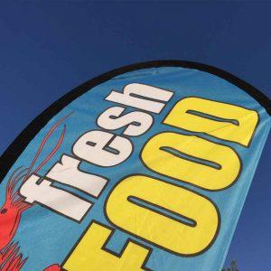 teardrop banners