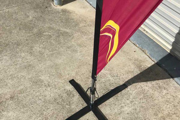 teardrop banners flags