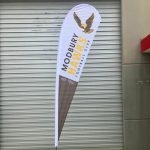 teardrop banners perth