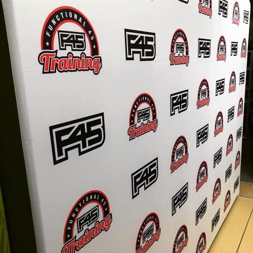 fabric media wall